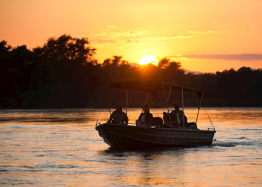 Sunset on the Lower Zambezi