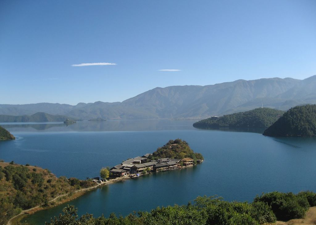 Lige, Lu Gu Lake, China