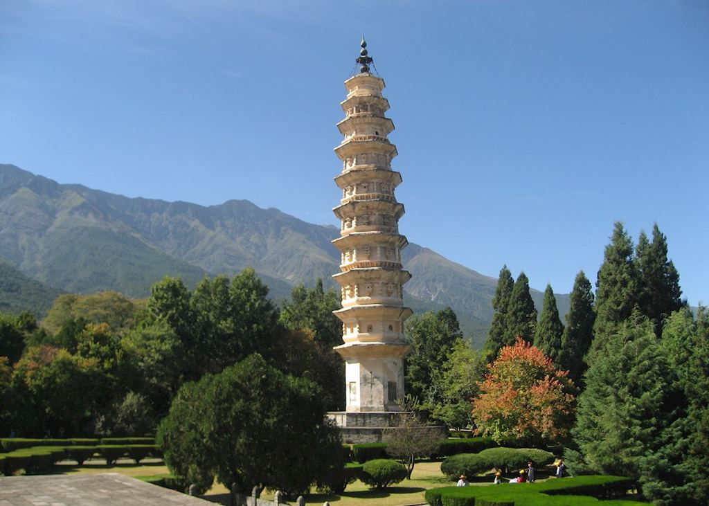 One of the Three Pagodas, Dali