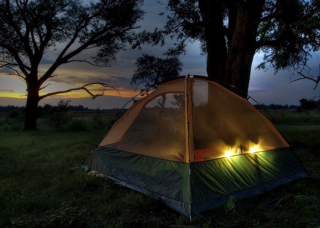 Kanana Mokoro Trails tent in the Nxabega Concession