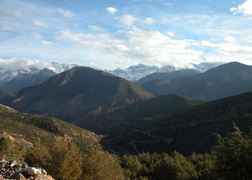 The High Atlas Mountains