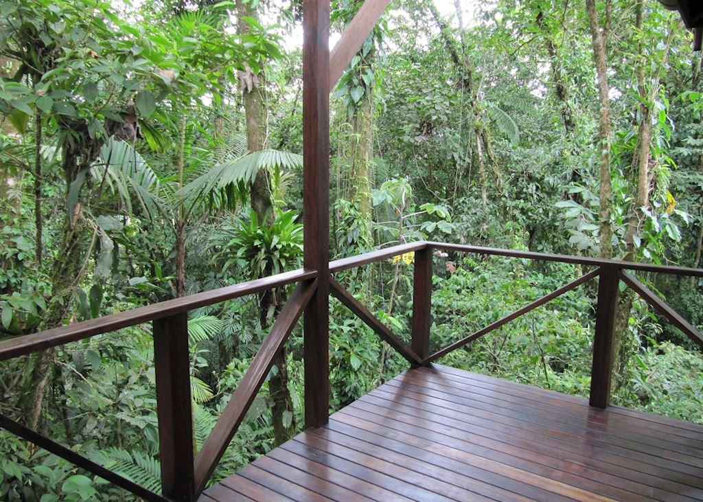 View from Casita, Rio Celeste Hideaway Hotel, Tenorio Volcano