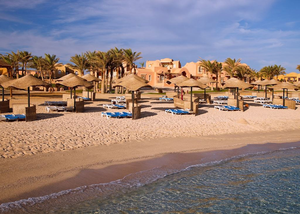 Beach at the Radisson Blu Resort, El Quseir
