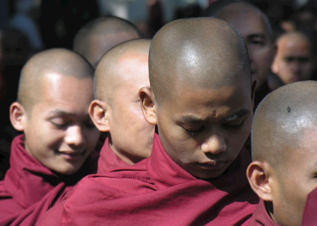 Monks at Amarapura
