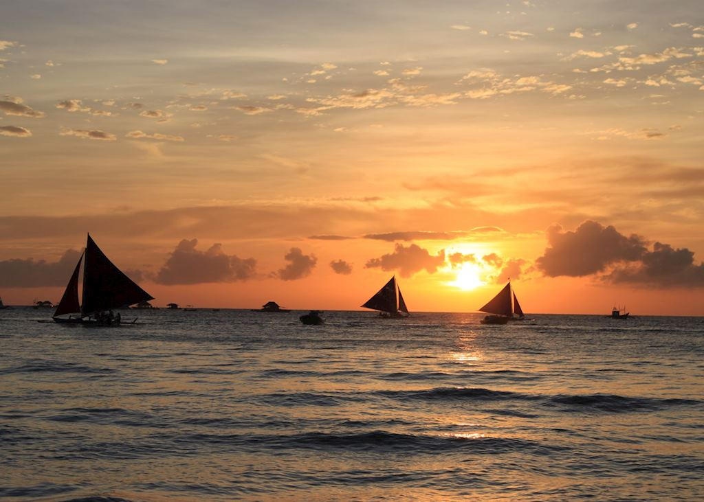 Sunset, Boracay, Phlippines