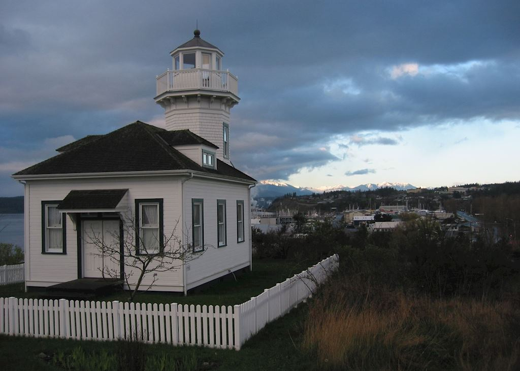Port Townsend Lighthouse near Port Angeles
