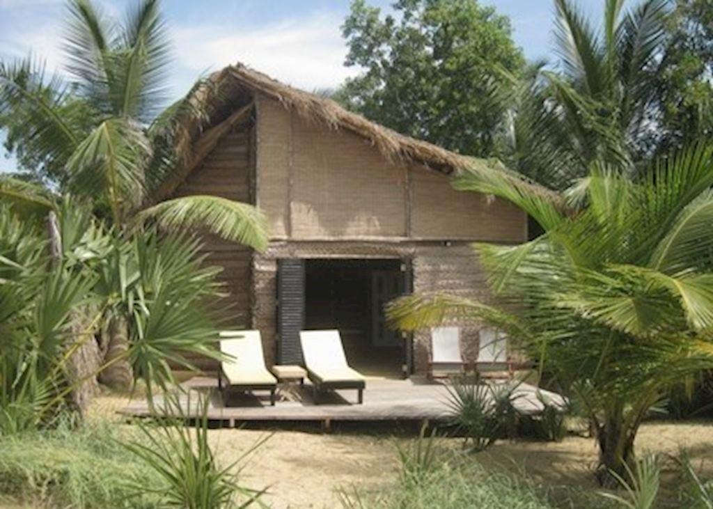 Wooden cabana, Palagama Beach, Alankuda