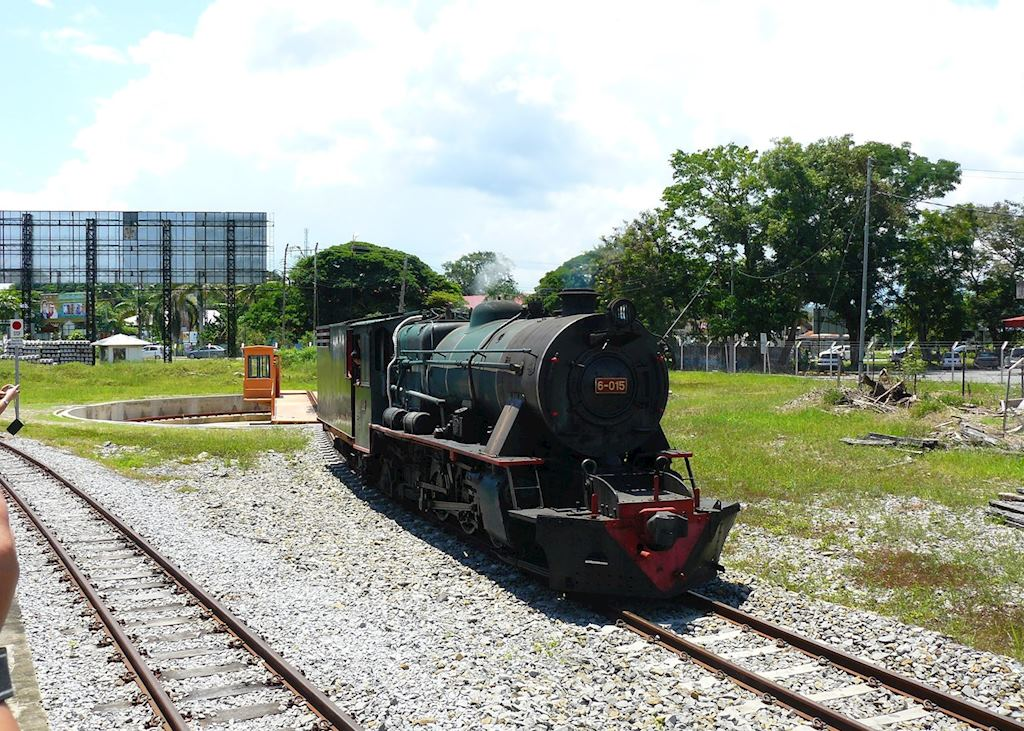 North Borneo Railway excursion