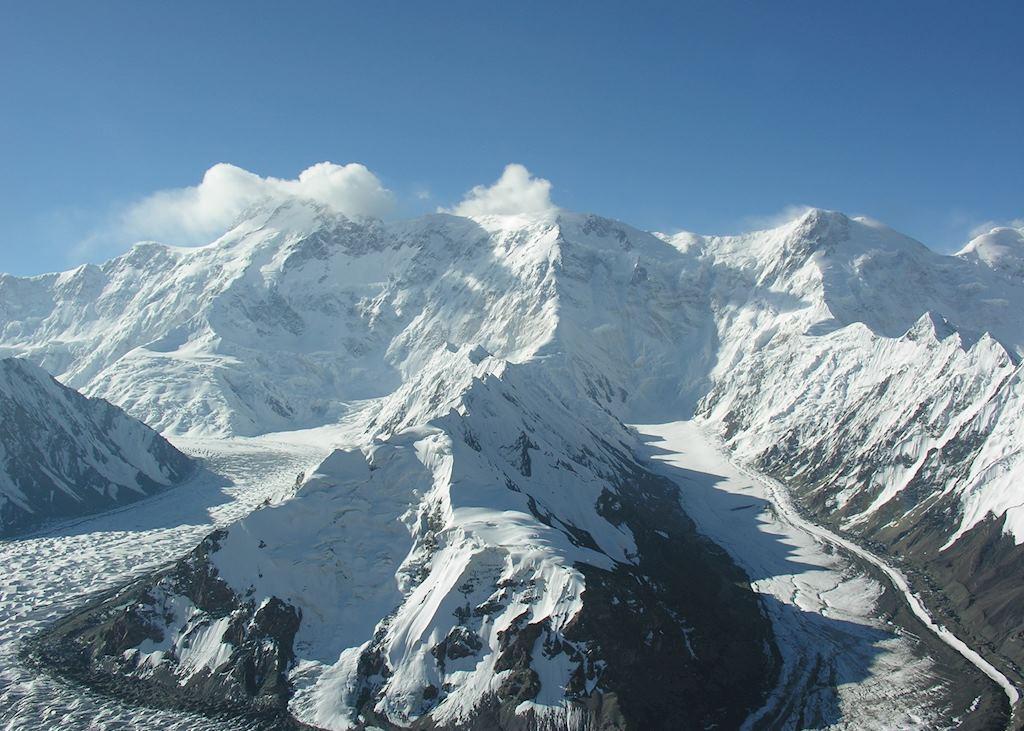 Popedy peak, Inylchek