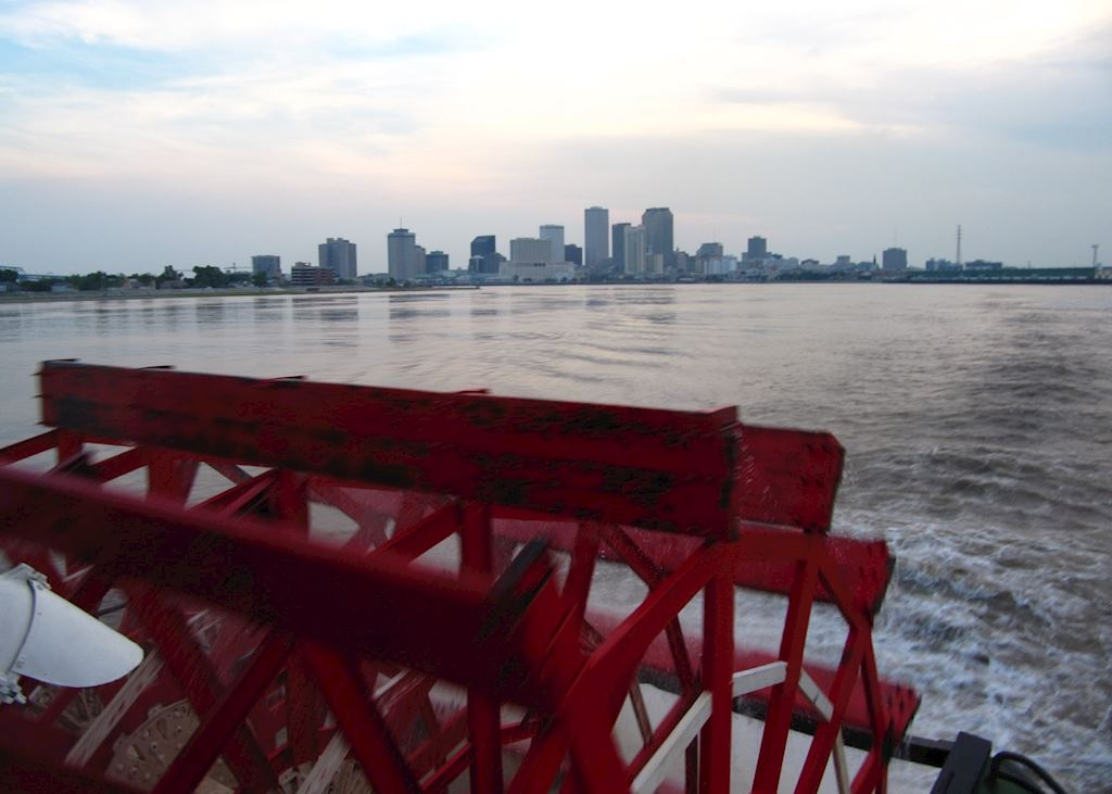 New Orleans from the Steamboat Natchez