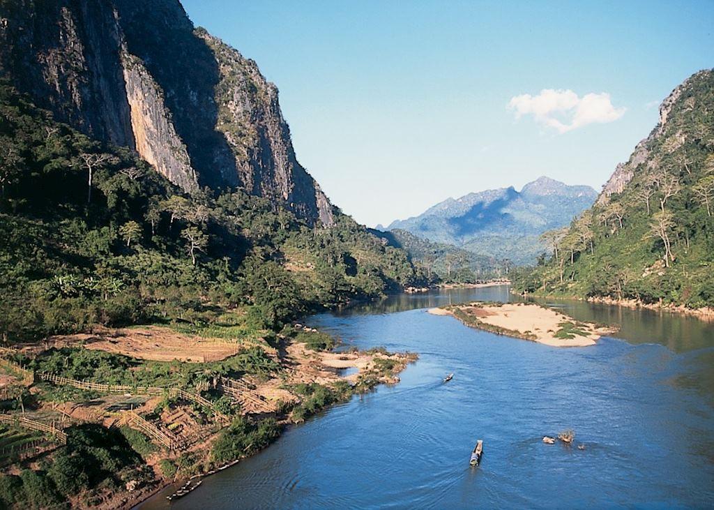 Ou river scenery