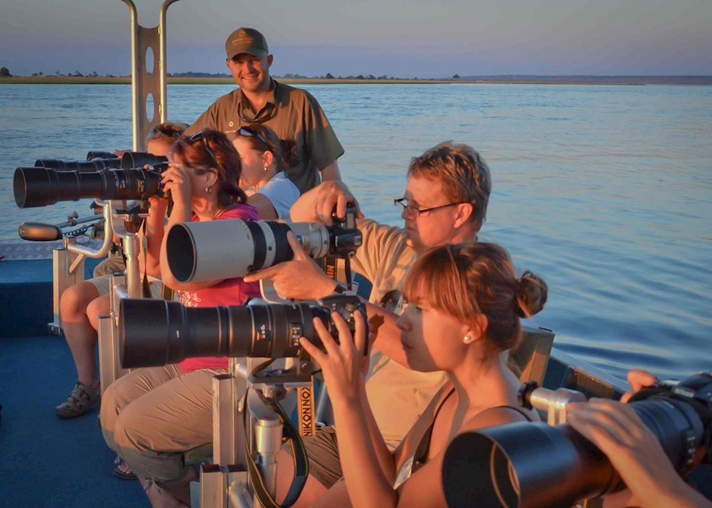 Half Day Water Photographic Safari - Pangolin Safaris,Chobe National Park