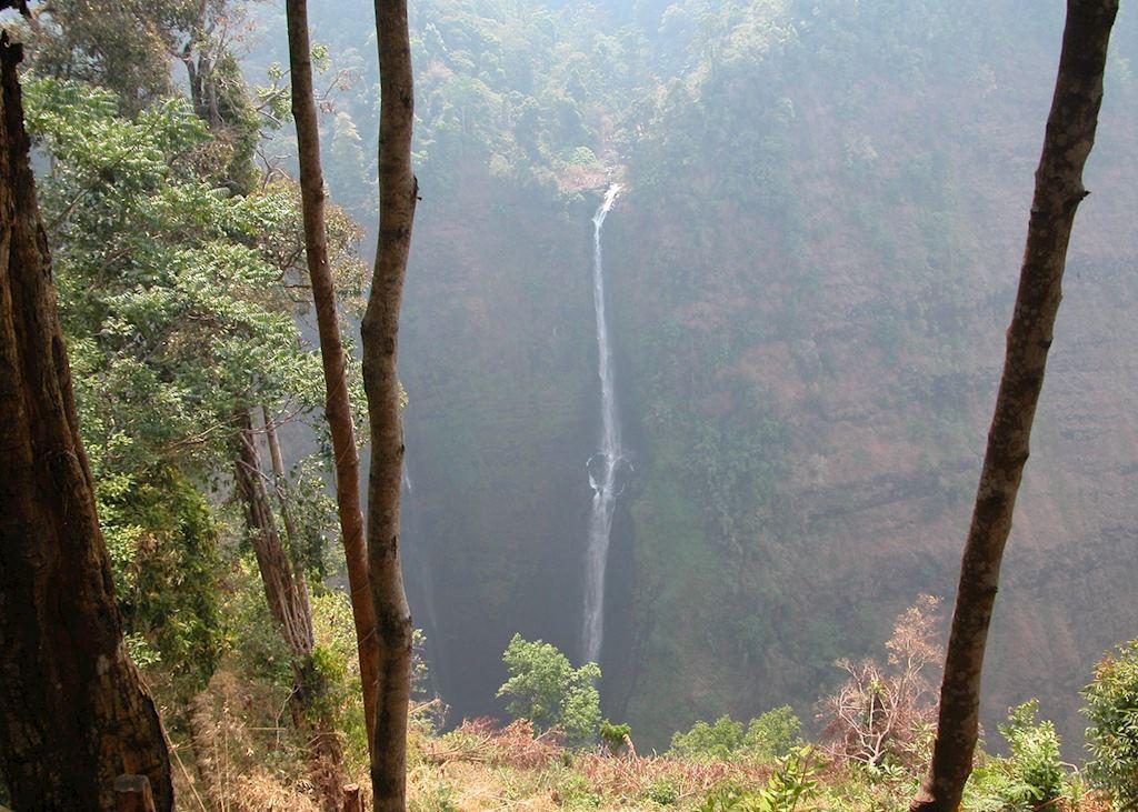 Tad Fane waterfalls, Bolaven's Plateau