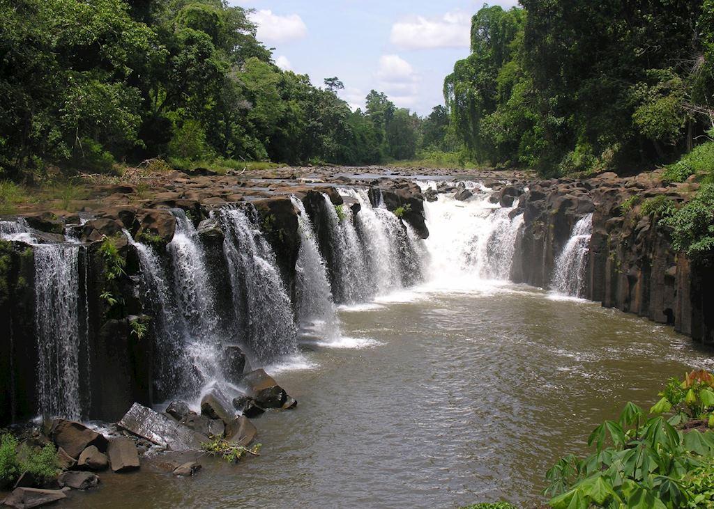 Phasouame Waterfalls, Bolavens Plateau