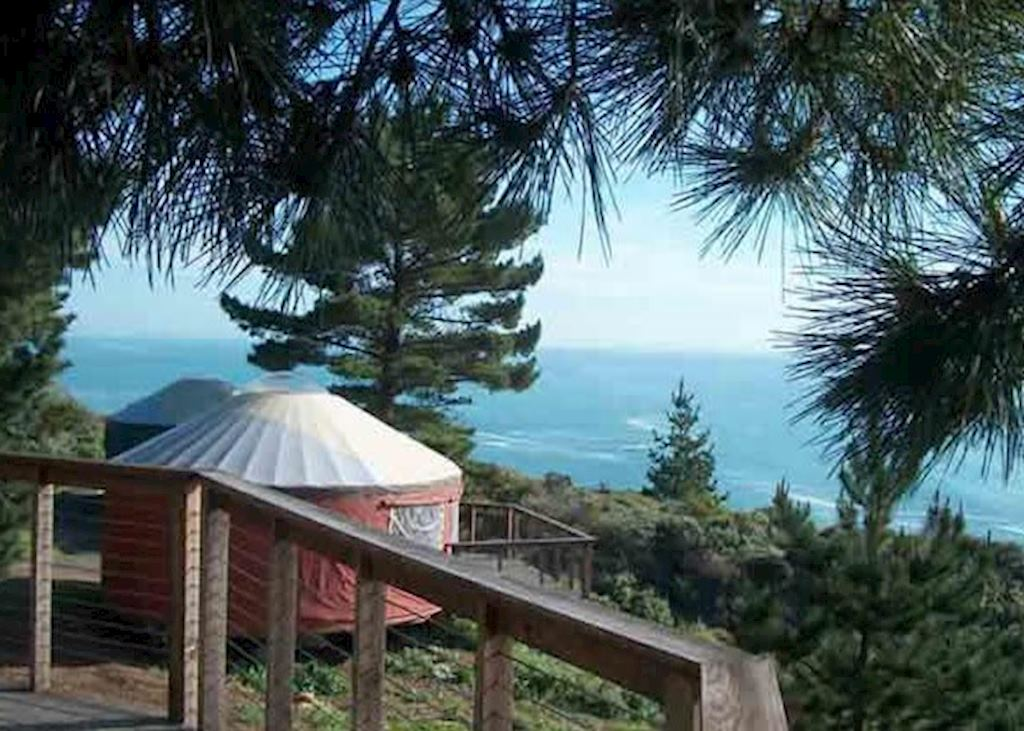 Treebones Resort in Big Sur