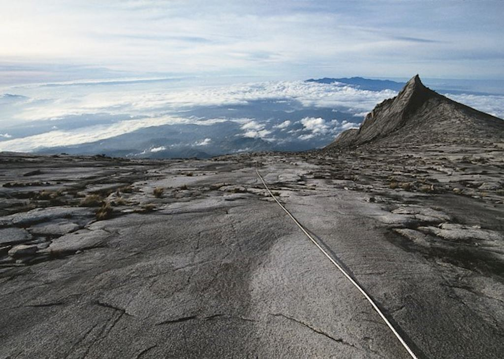 The summit of Mount Kinabalu, Malaysian Borneo