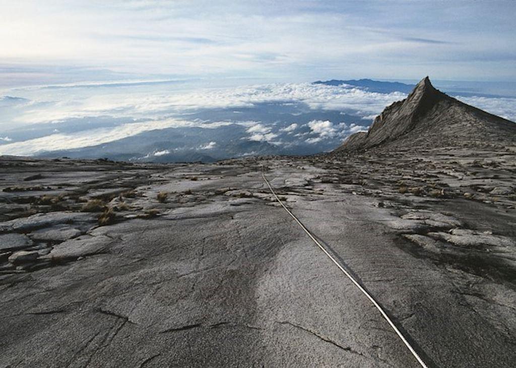 The summit of Mount Kinabalu, Malaysian Borneo