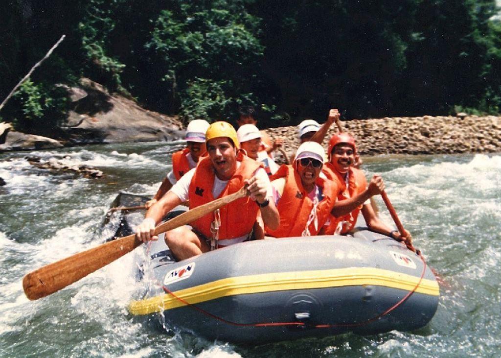 Whitewater rafting, Sabah