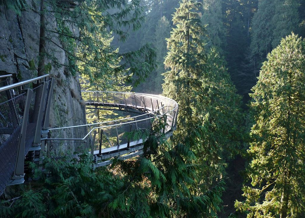 Cliffwalk at Capilano Suspension Bridge, Vancouver