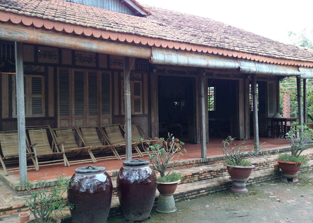 Ut Trinh  Homestay,Vinh Long, Front Entrance