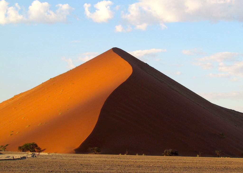 Sand dune at Sossusvlei