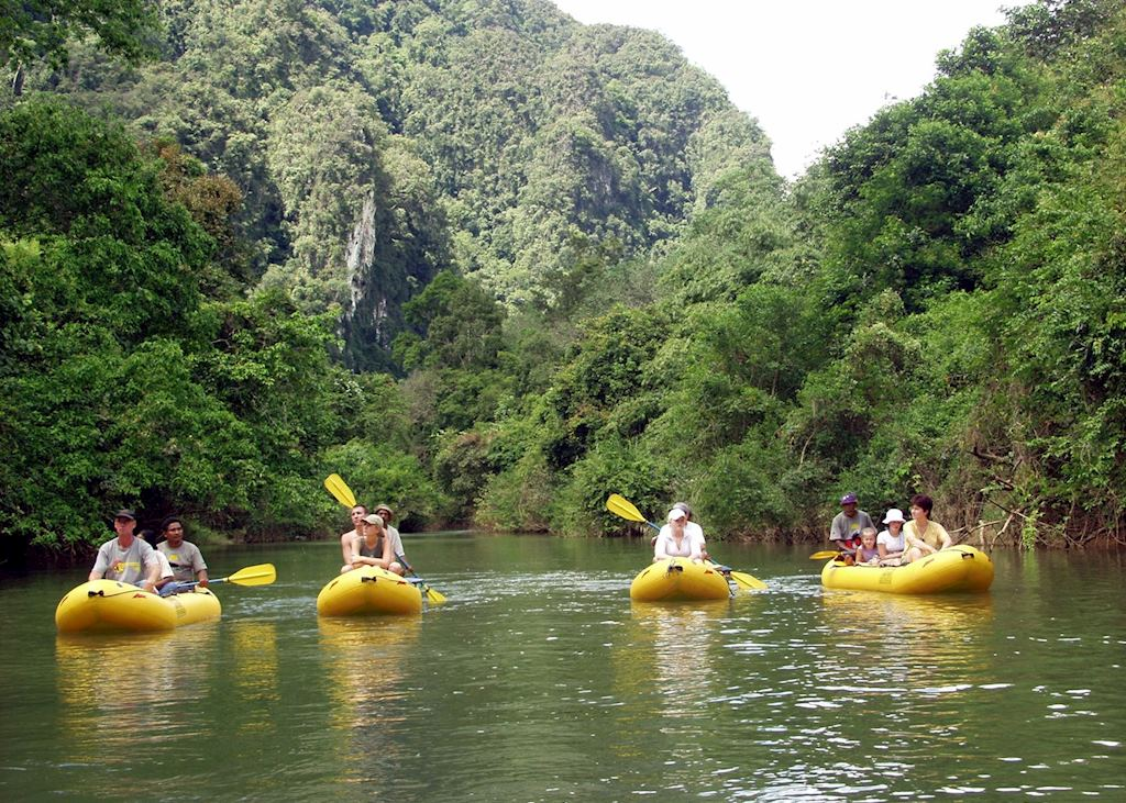 Kayaking in Khao Sok National Park