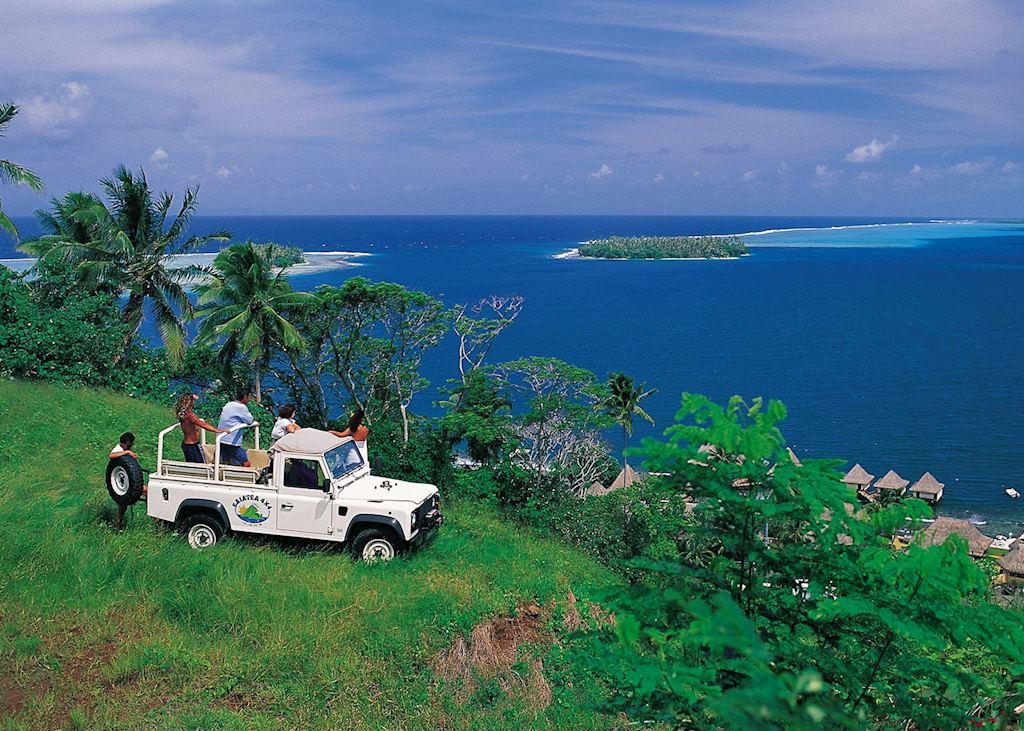 Views over Raiatea