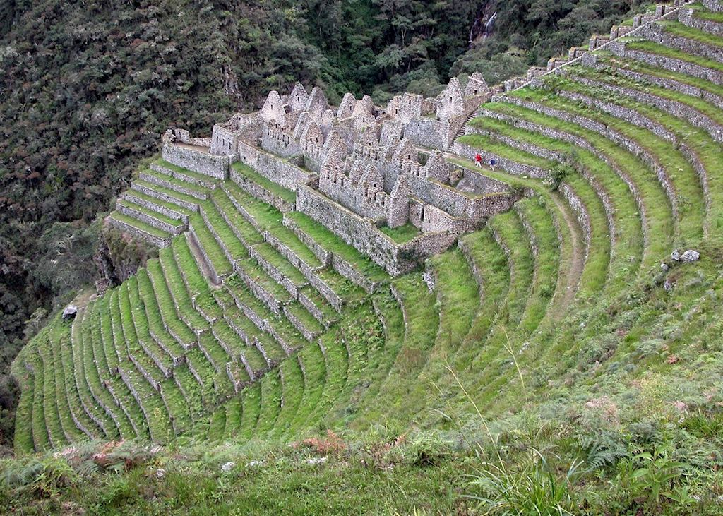 Ruins of Winay Wayna on KM104