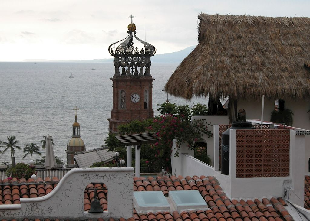 The rooftops of Puerto Vallarta, Mexico