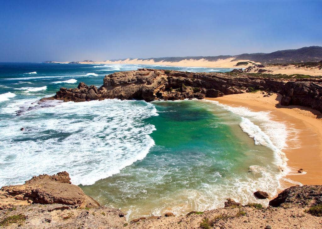 Shelly Beach, South Coast of South Africa