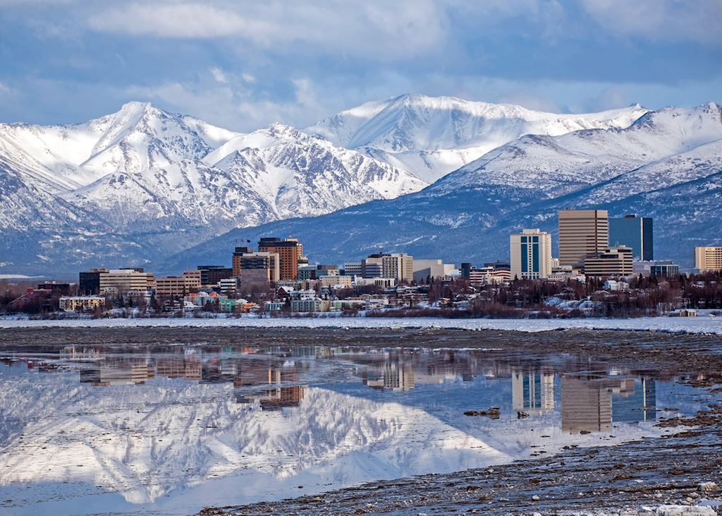 Views of Anchorage,Alaska