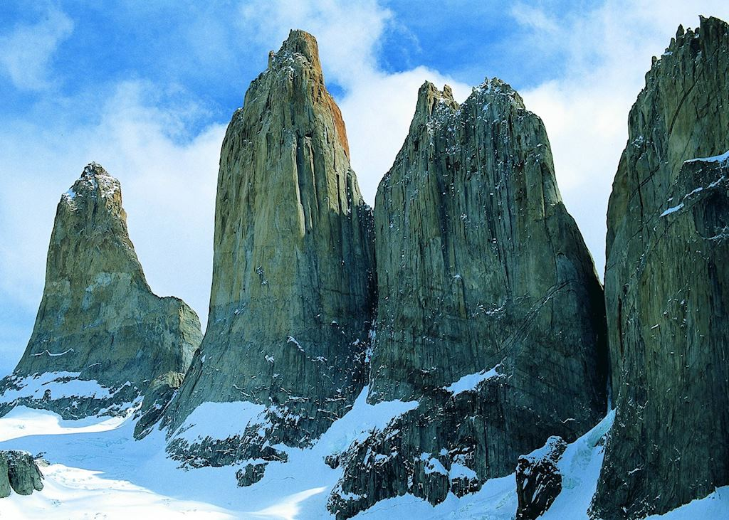 The famous towers of Torres del Paine National Park