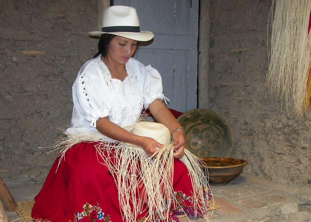 Panama Hat maker, Cuenca