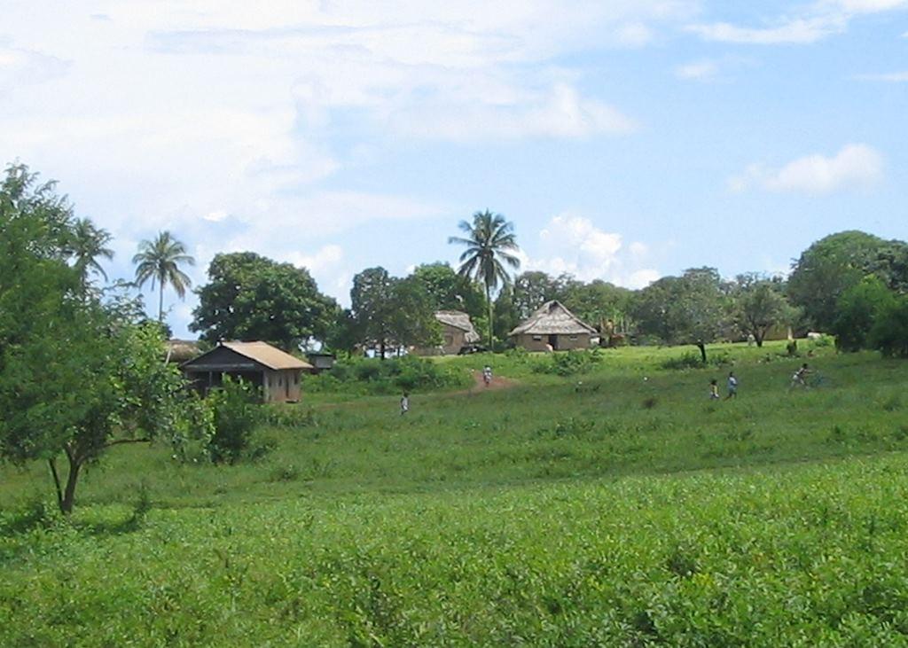 Amerindian village, Annai, Guyana