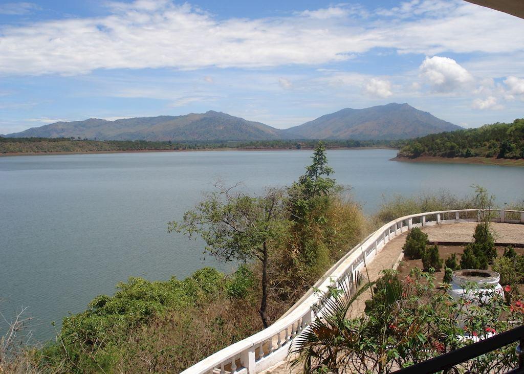 Sea Lake Pleiku, near Kon Tum, Vietnam
