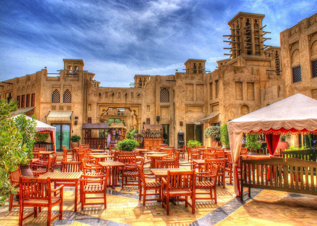 Outdoor seating area, Dubai