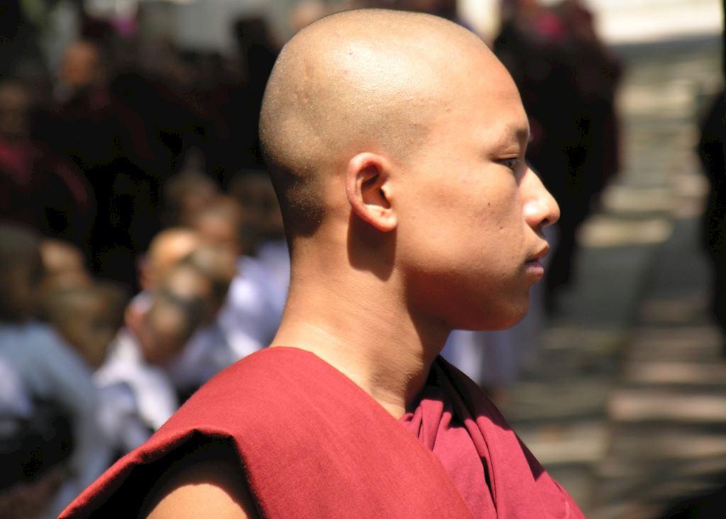 Monk at Amarapura