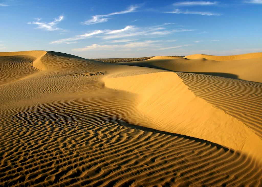 Sand dunes of the Thar Desert, Jaisalmer