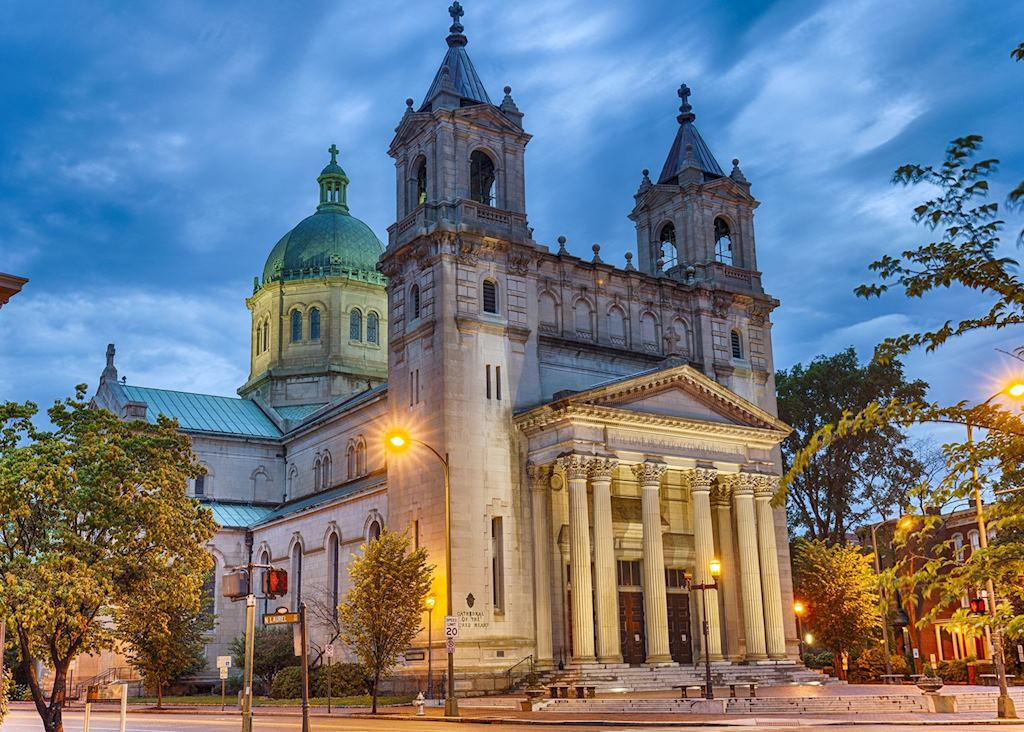 Cathedral Of The Sacred Heart In Richmond, Virginia