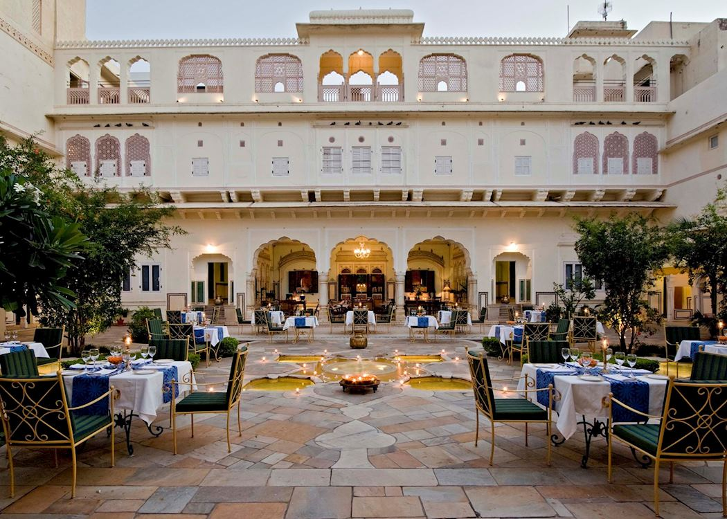 Samode haveli hotels in jaipur audley travel for Decor india jaipur