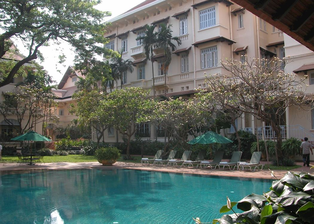 Raffles hotel le royal hotels in phnom penh audley travel for Design hotel iroha