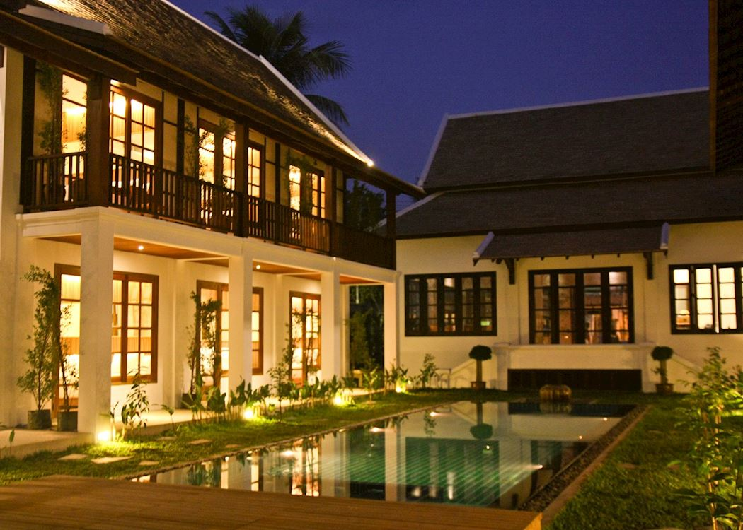 Le sen boutique hotel hotels in luang prabang audley for Luang prabang luxury hotels