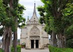 Chapel of Saint-Hubert at Château d'Amboise, Loire Valley