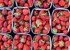 Fresh strawberries, Amboise
