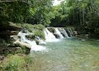 Waterdfalls near Punta Gorda, Belize