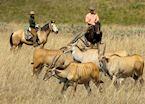 Horse riding on Nyika Plateau
