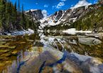 Dream Lake at the Rocky Mountain National Park