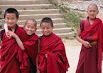 Boy monks, Thimpu