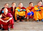 Young monks, Garden Temple, Ulaan Baatar