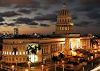 The Capitolio building, Havana